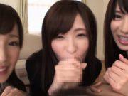 xxx3สาวญี่ปุ่นสุดน่ารัก มาสอนอมควย